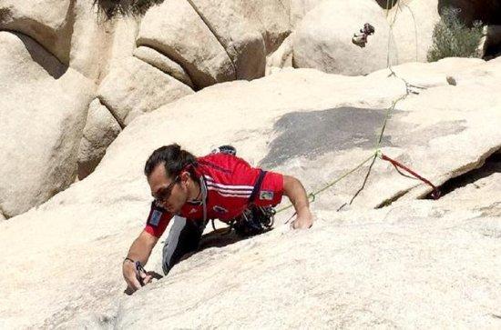 Traditional Climbing Class in Joshua...