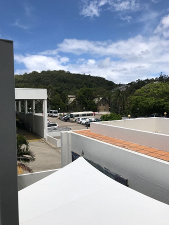 Sofitel Noosa Pacific Resort: This is the view we got from our village view luxury room.