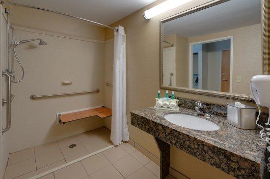 Ranson, Wirginia Zachodnia: Guest Bathroom w/ Roll-in-Shower (2016)