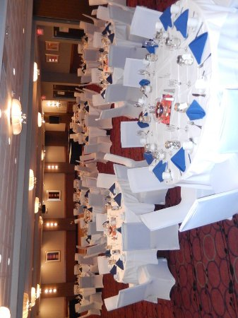 Kulpsville, PA: Elements Ballroom set up for a Wedding!
