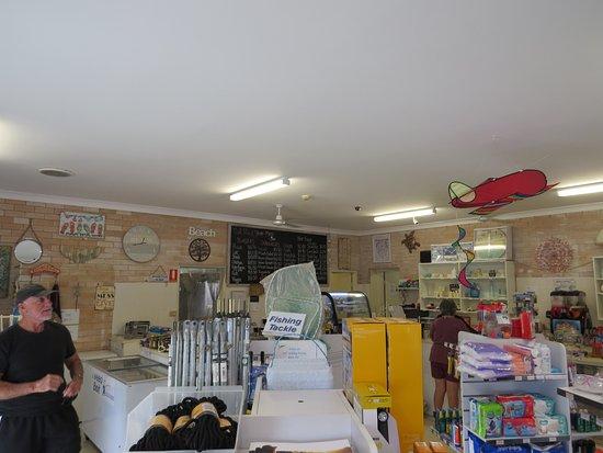 Red Rock, Australia: Inside the store