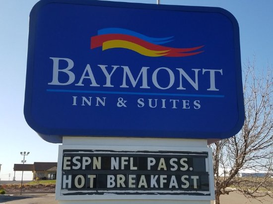 Limon, CO: Front Sign Board