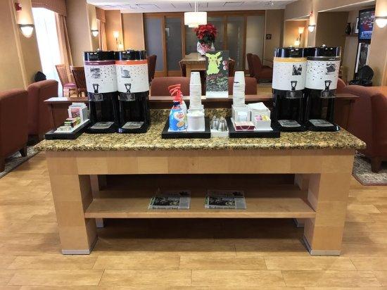 Garden City, KS: Coffee Station