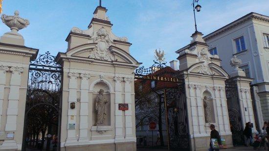 University of Warsaw (Uniwersytet Warszawski): impressive gates
