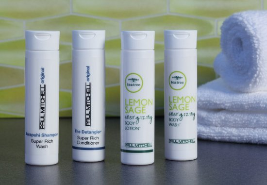 Loma Linda, Californien: Paul Mitchell® Amenities
