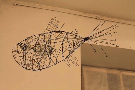 The Pushkinskaya 10 Art Center: 3D рыба