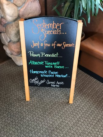 Montesano, WA: Their specials