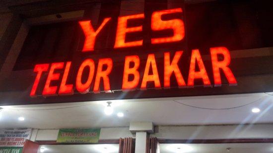 Telor Bakar Yes
