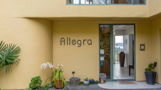 Entrance to Allegra House