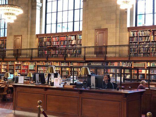 New York Public Library - Picture of New York Public Library, New ...