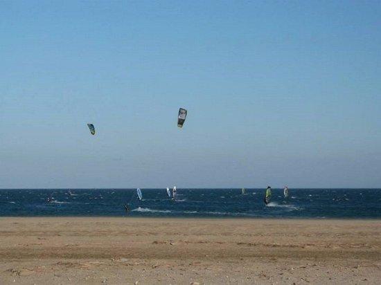 École de kitesurf à La palme