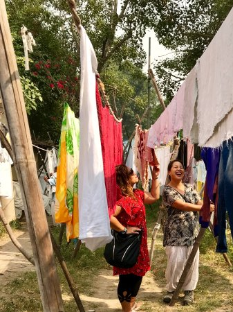 The Delhi Way Day Tours: Laundry makes us laugh
