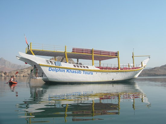 Khasab, Oman: 'Our' Dhow