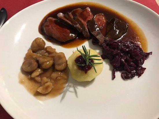 Chiasso, Switzerland: menù della rassegna gastronomica