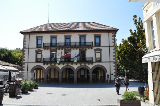 The New Town Hall of Comillas.