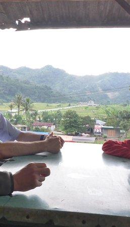 Moni, Indonesia: vue très agréable