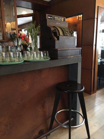 Hotel Eckert: Bar/breakfast area