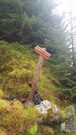 Svolvaer, Norway: Tjeldbergtinden Sign