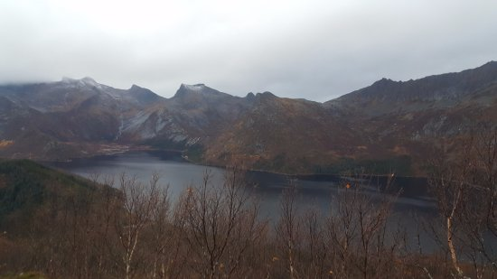 Svolvaer, Norway: View from first summit.