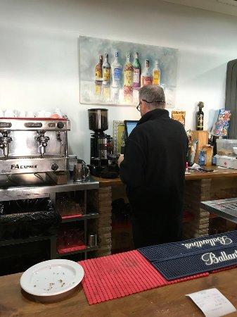 Isla Plana, Espanha: Gott kaffe