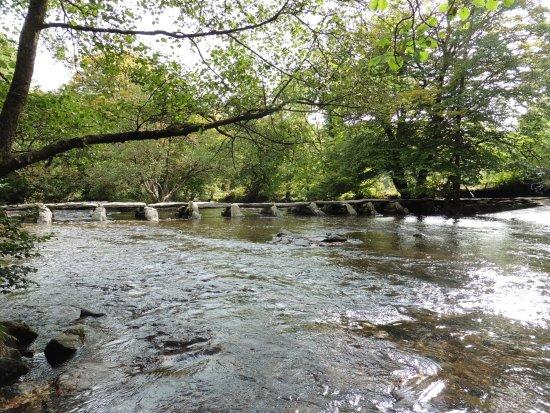 Exmoor National Park, UK: Tarr Steps Clapper Bridge & Ford
