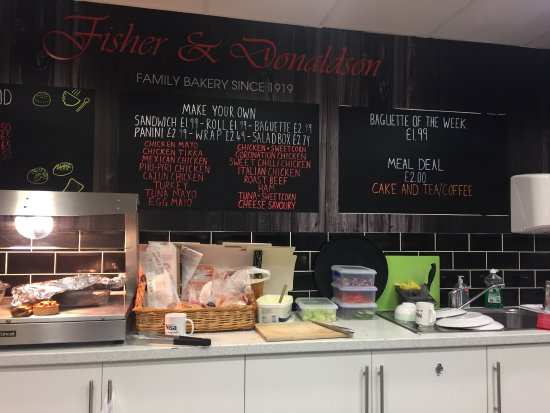 Greens Café - Fisher & Donaldson Bakers & Jannettas Gelateria Foto