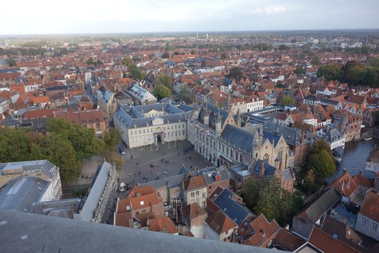 magnificent belfort view 2 Picture of Belfort Bruges TripAdvisor