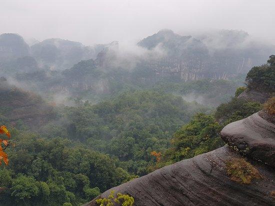 Renhua County, Cina: 특이한 암석과 울창한 숲