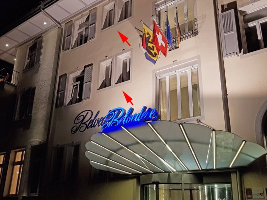 Шпиц, Швейцария: Fenêtres inondées de lumière