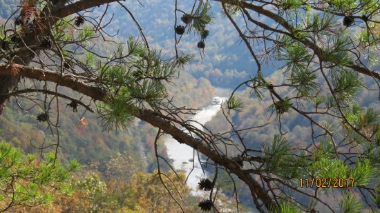 New River Gorge: Great view.