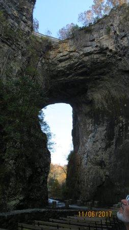 The Natural Bridge of Virginia: Natural Bridge from opposite side.