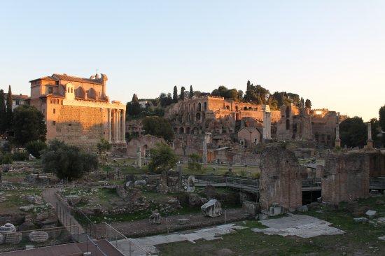 Rome, Italie : Domus Tiberiana