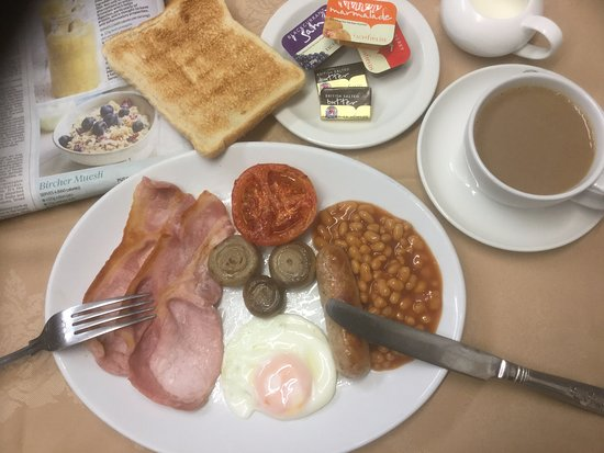 Brookside Hotel : Full English Breakfast