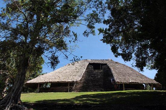 Chetumal, المكسيك: Piramide dei mascheroni