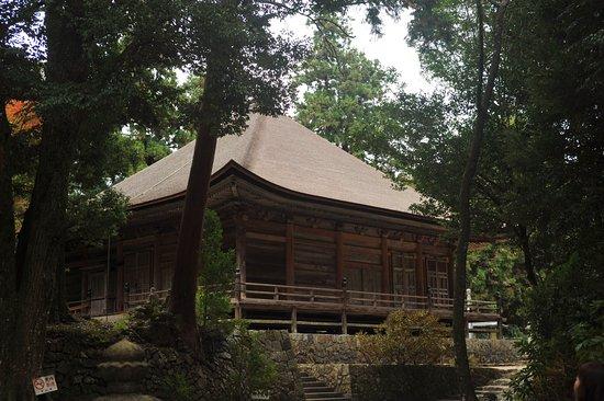 Honzanji Temple: 森厳とした雰囲気だ