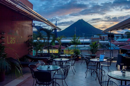 Best Place To Enjoy Sunset In La Fortuna Picture Of Luna