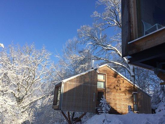 Vagney, Fransa: neige