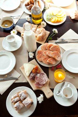 Cellers, İspanya: Buffet desayuno