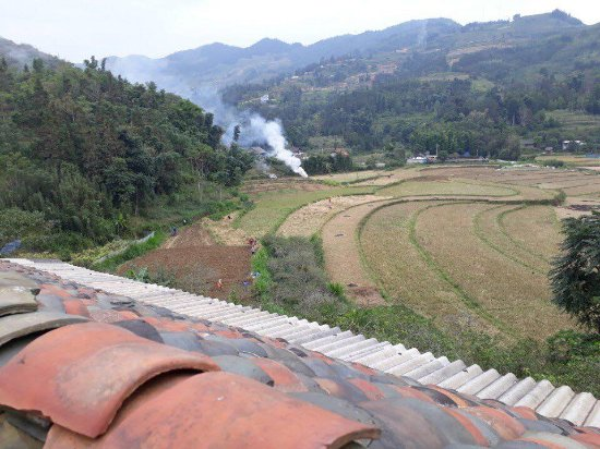 Bac Ha, Vietnam: view from homestay tour