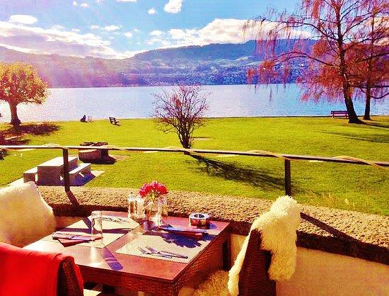 Stäfa, Suiza: Terrasse