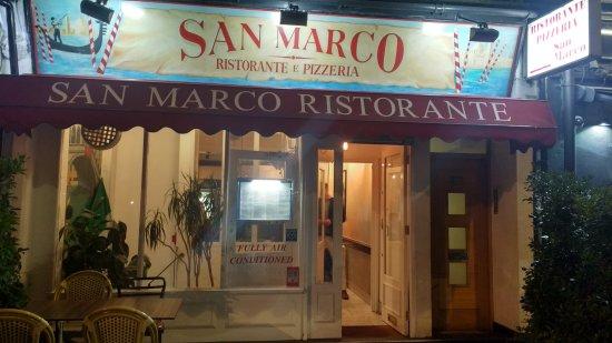 San Marco Ristorante : frente restaurante