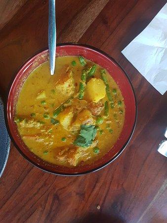Leederville, Australia: Vegetarian curry
