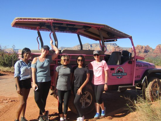 Pink Jeep Tours Sedona: Girls Weekend!