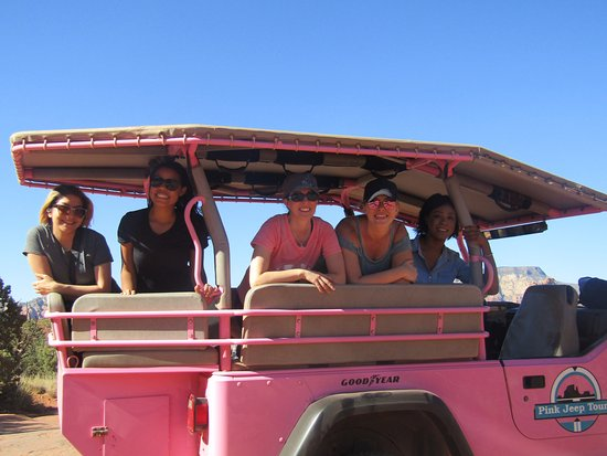 Pink Jeep Tours Sedona: Comfy ride - fit all of us + a couple