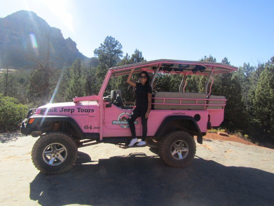 Pink Jeep Tours Sedona: Thanks for the lift!