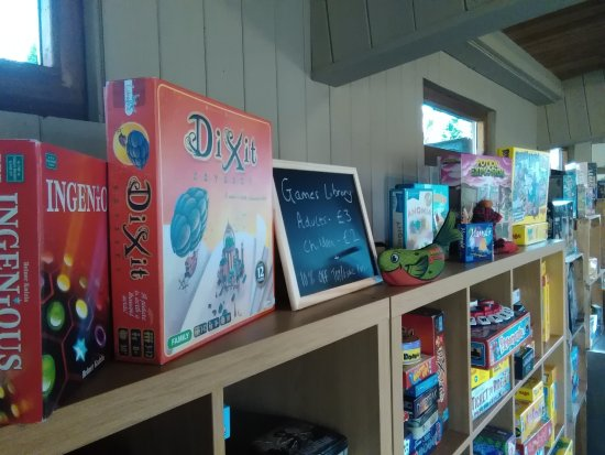 Sharnbrook, UK: Board Games Available to play