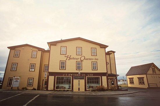 Front View of The Harbour Quarters Inn- 42 Campbell Street,  Bonavista, Newfoundland