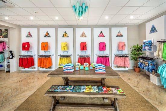 Pembroke Parish, Bermuda: TABS Bermuda shorts flagship store in Hamilton, BERMUDA.