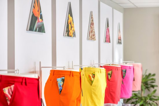 Pembroke, Islas Bermudas: Each colour is matched to something you will find on the island.