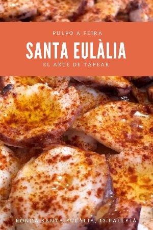 Palleja, Spania: Hay pulpo tierno y pulpo como el nuestro. Tiernísimo.